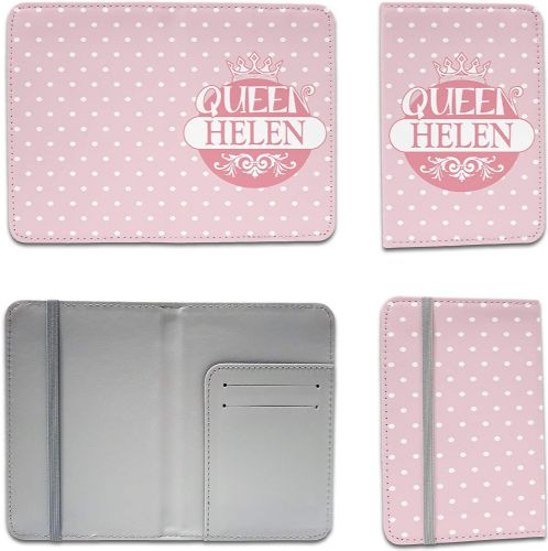 Personalised Queen Funny Novelty Passport Holder